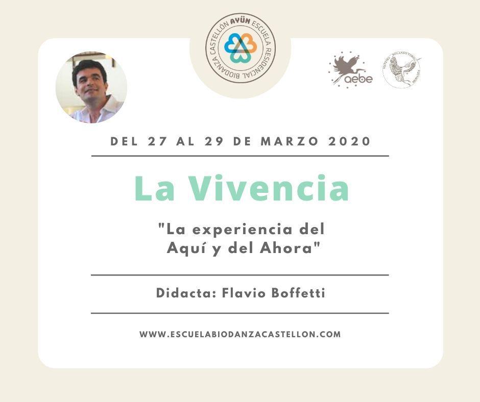 Modulo Biodanza Flavio Bofetti