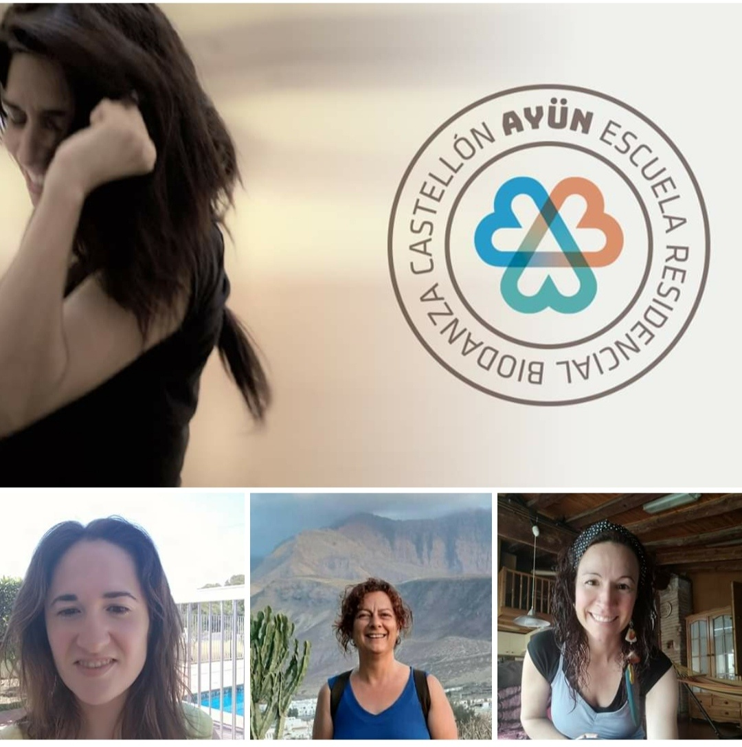 Bienvenidas a la formación de Biodanza en Ayün: Patricia, Marta & Laura.