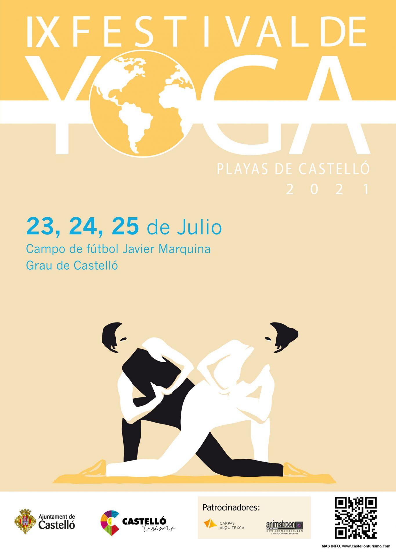 Lee más sobre el artículo Festival Yoga Castellón 2021 con Biodanza