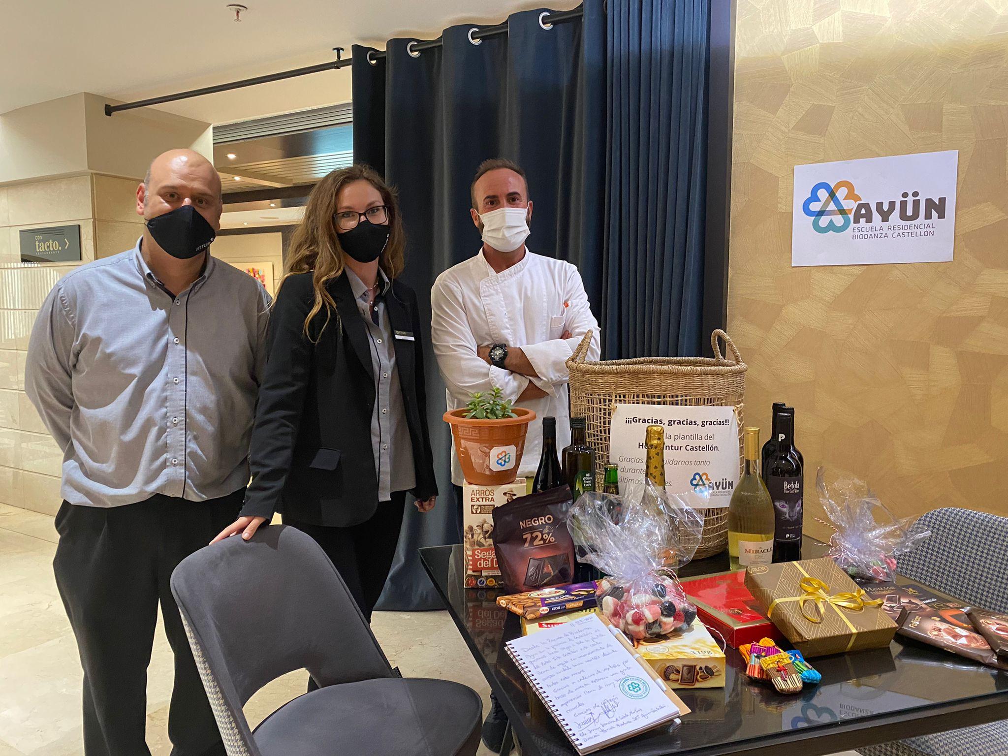 Lee más sobre el artículo Un super GRACIAS en mayúsculas al Hotel Intur Castellón