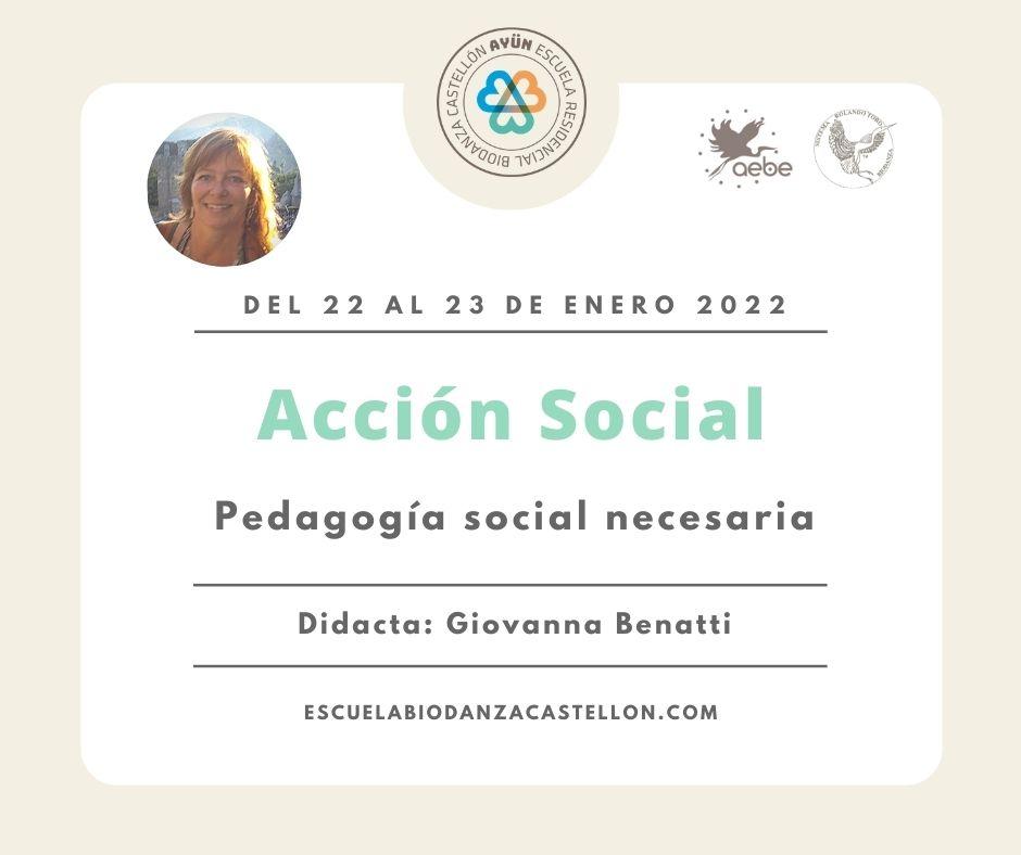 Biodanza y Acción Social 7