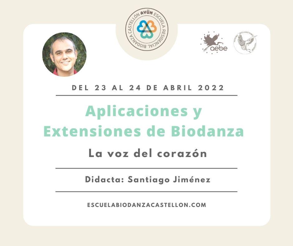 Aplicaciones y Extensiones de Biodanza 7
